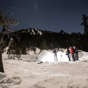 La nocturne avec casse croute en igloo, Samedi 19h-23h