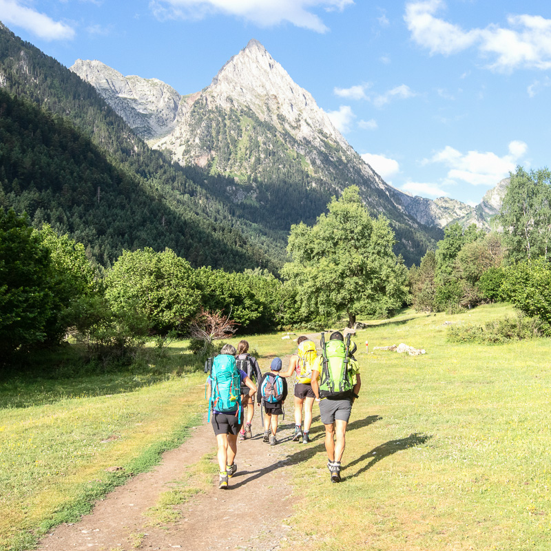 Cirque de Gavarnie, randonnée, Pyrénées, accompagnateur en Montagne