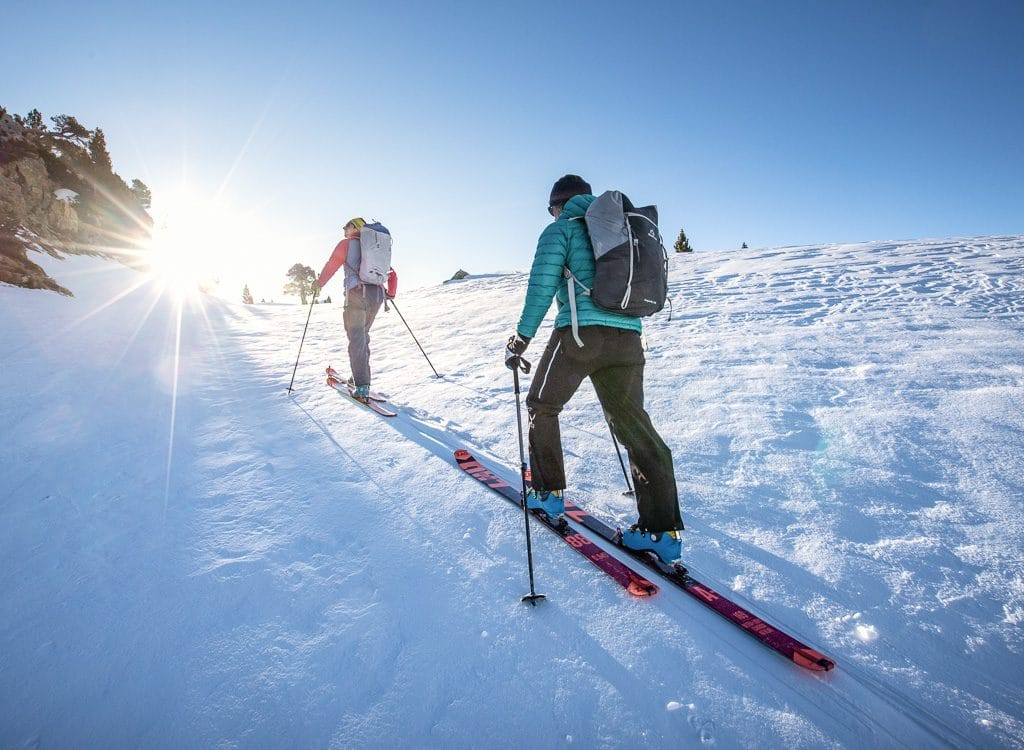 Raid à ski Wallon, Respomuso, Cambales, Pourtet, Courounalas, Cambasque
