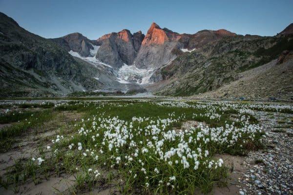 Vignemale, Glacier Oulettes de Gaube, Pyrénées, randonnées