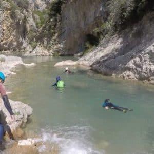 Le Canyon de Héas, demi-journée