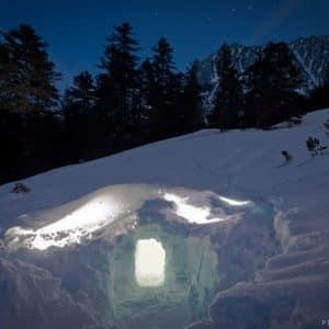 La nocturne avec casse croute en igloo, Mercredi 19h-23h